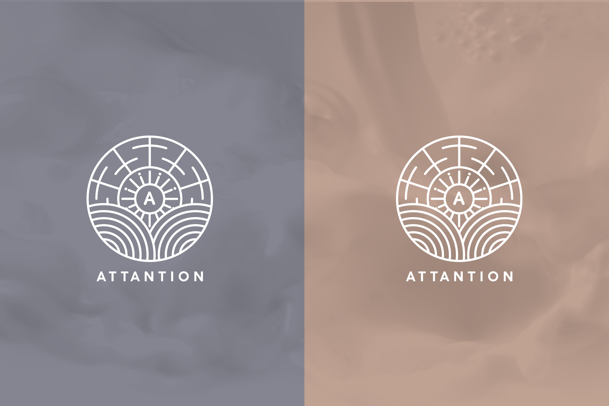 Attantion logo variations