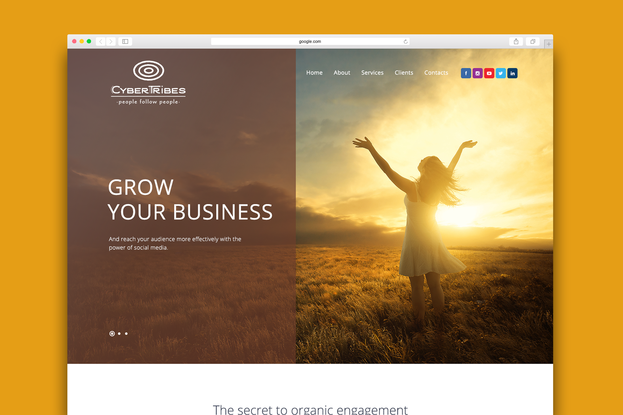 CyberTribes Home Page