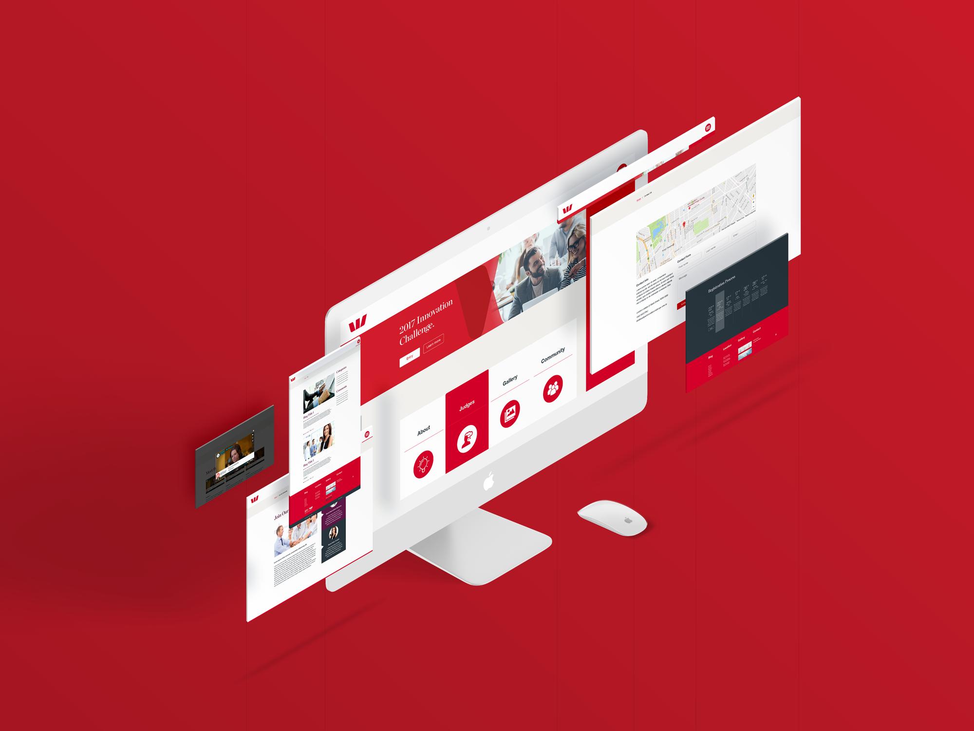 Westpac Innovation Website Concept