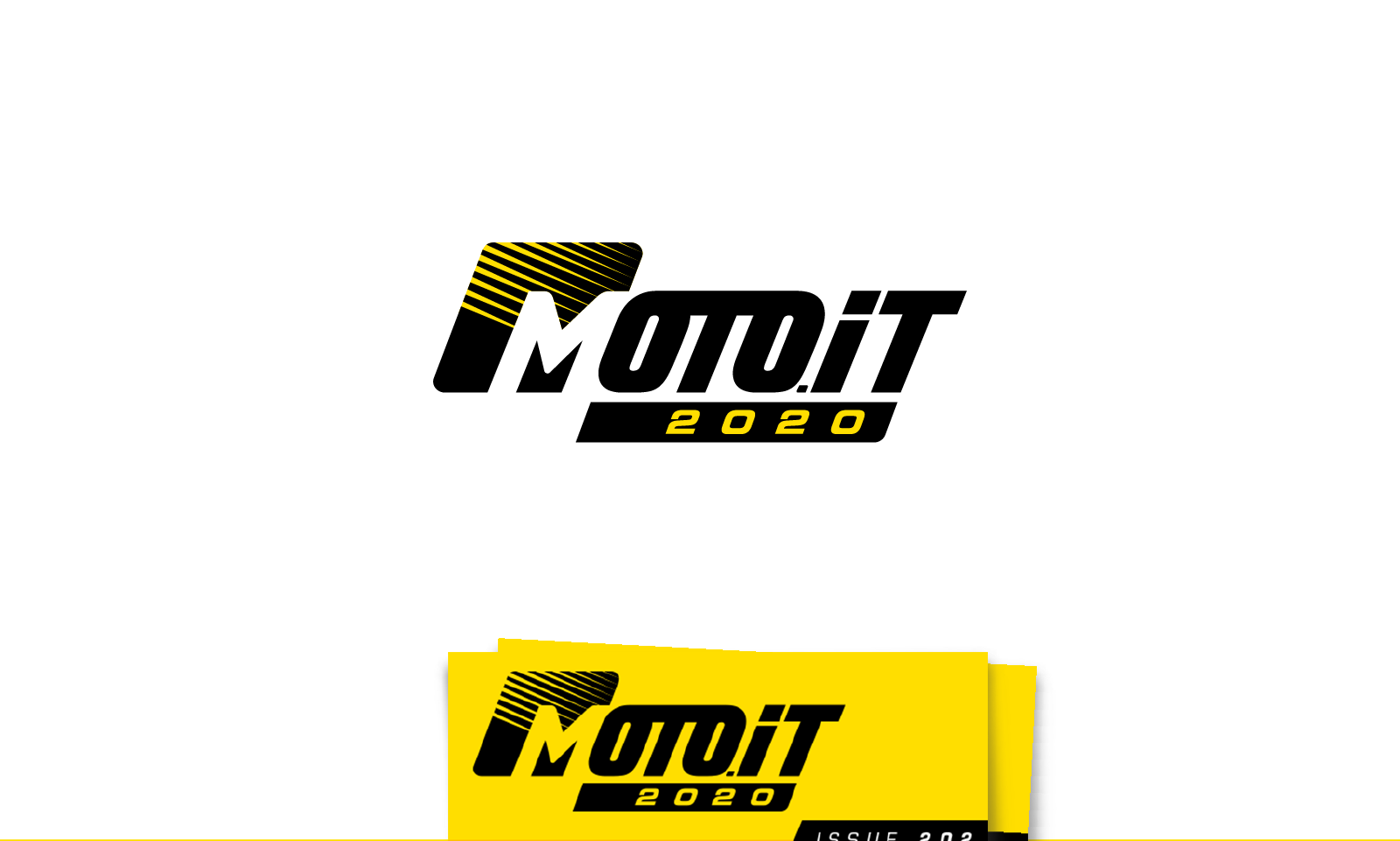 Moto.it logo design