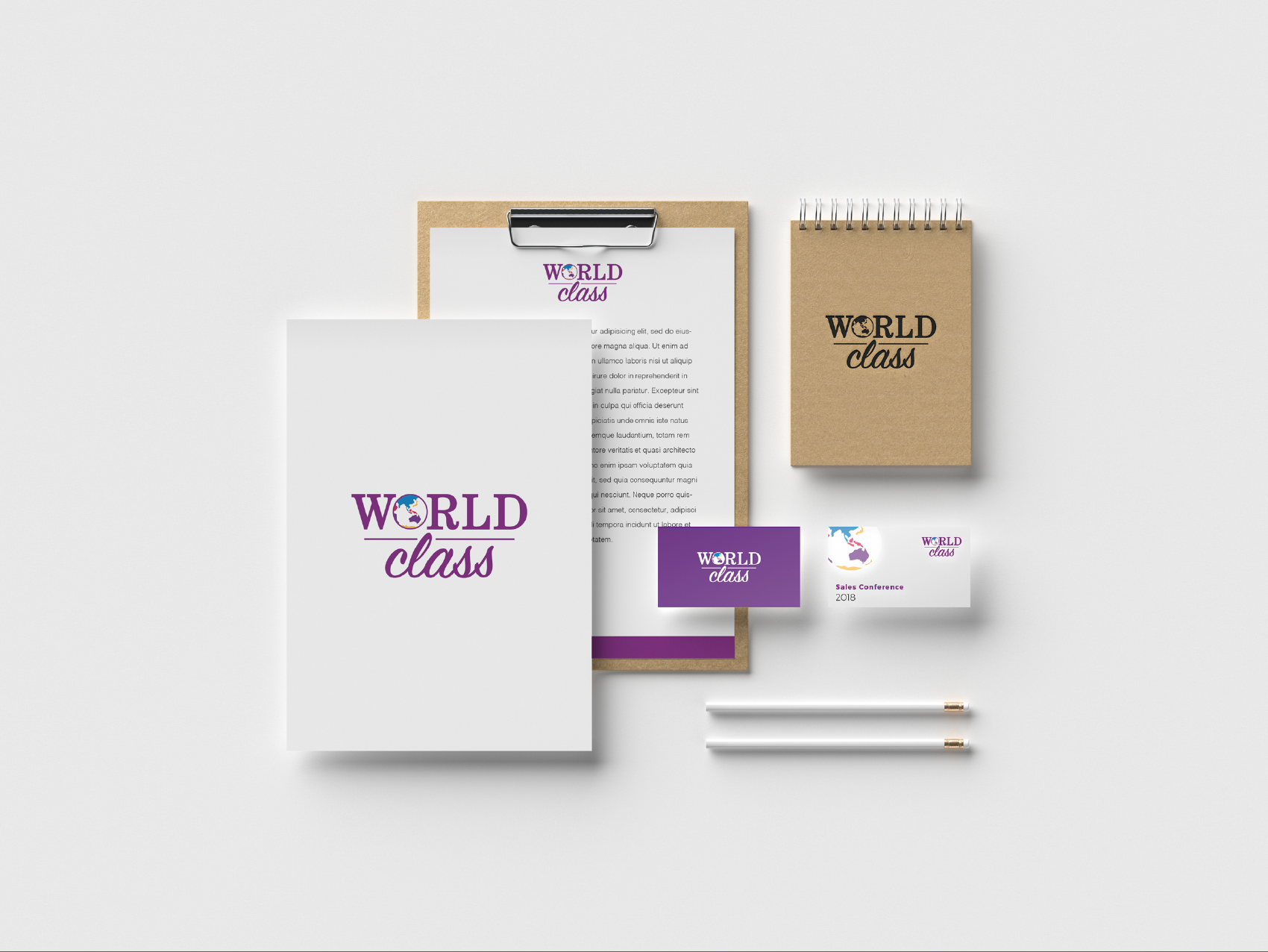 World Class business collateral