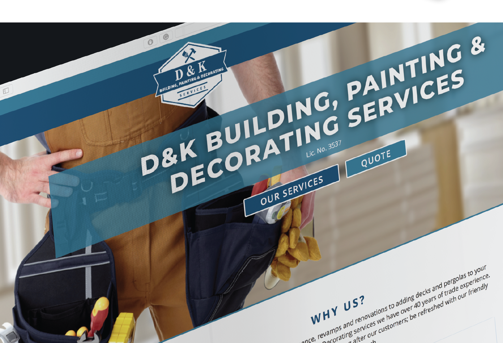 D and K home page