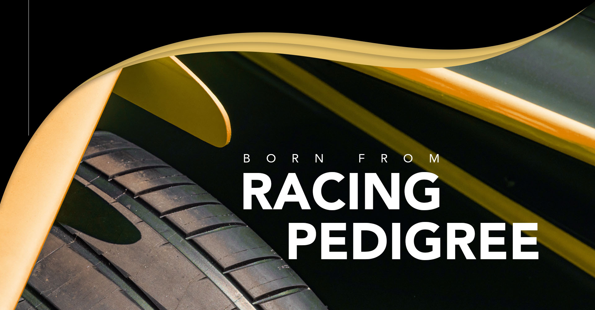 Born from racing pedigree