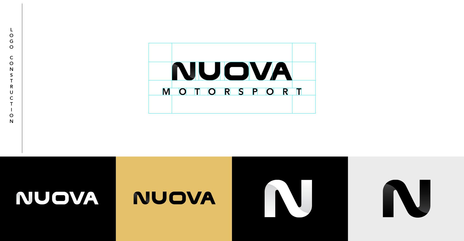 Nuova logo contruction