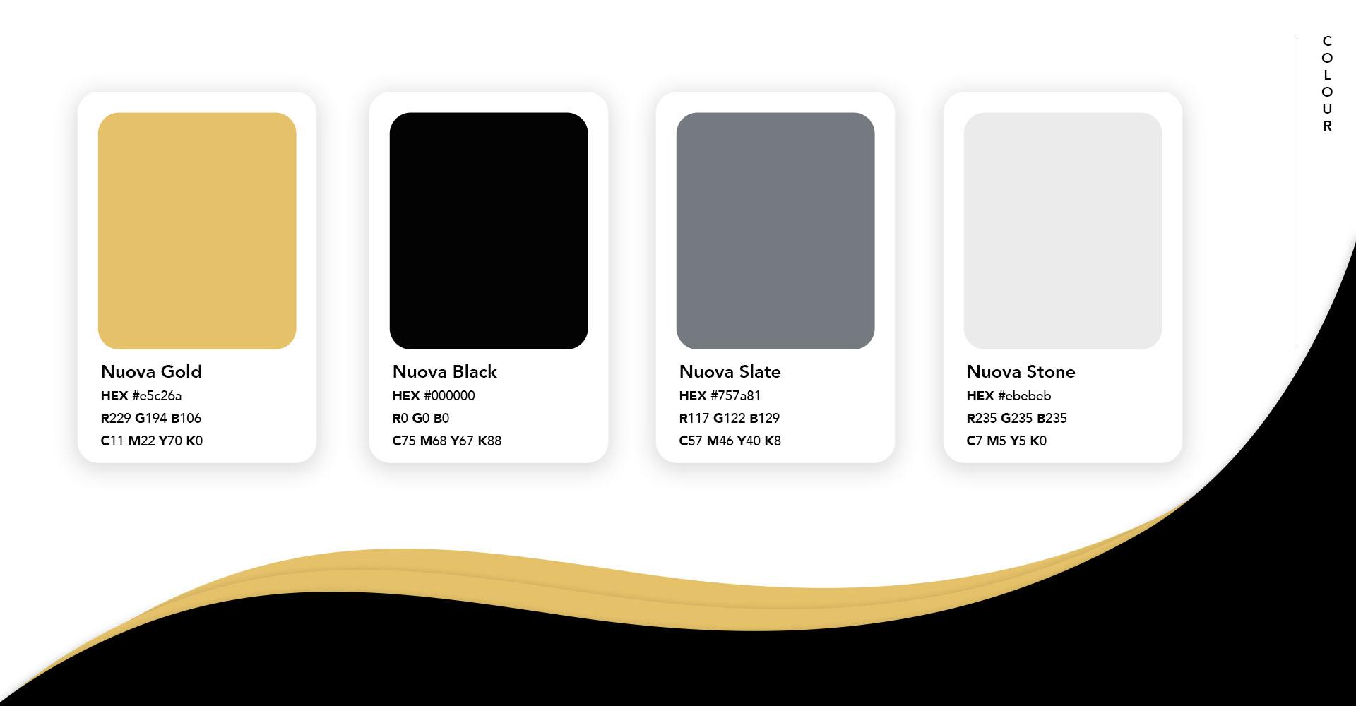 Nuova colour palette