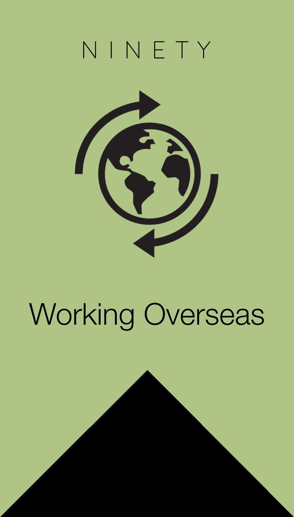 Career Dilemma Working Overseas