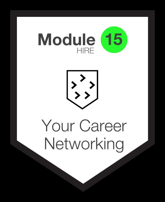 NINETY Careers module 15 shield