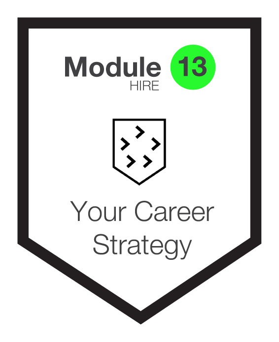 NINETY Careers module 13 shield
