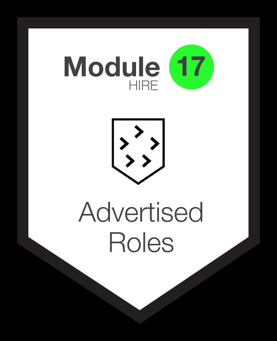 NINETY Careers module 17 shield