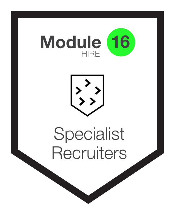 NINETY Careers module 16 shield
