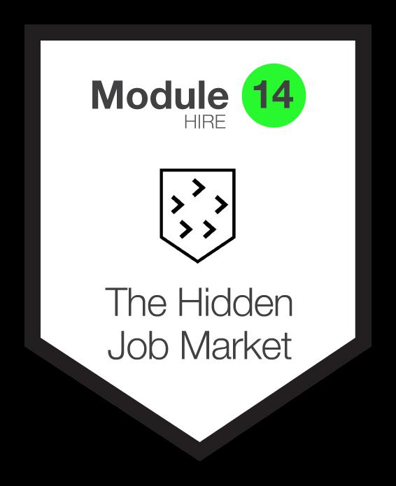 NINETY Careers module 14 shield