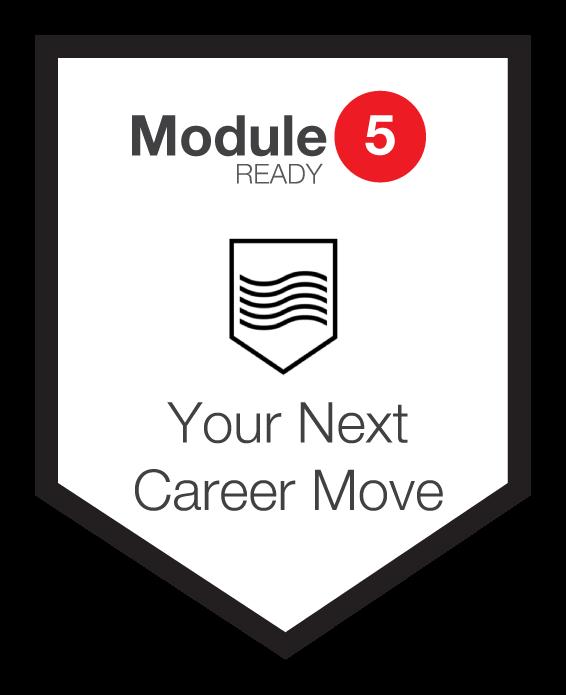 NINETY Careers module 5 shield