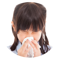 Child Suffering with Allergies