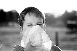 Allergy Symptoms on a Patient