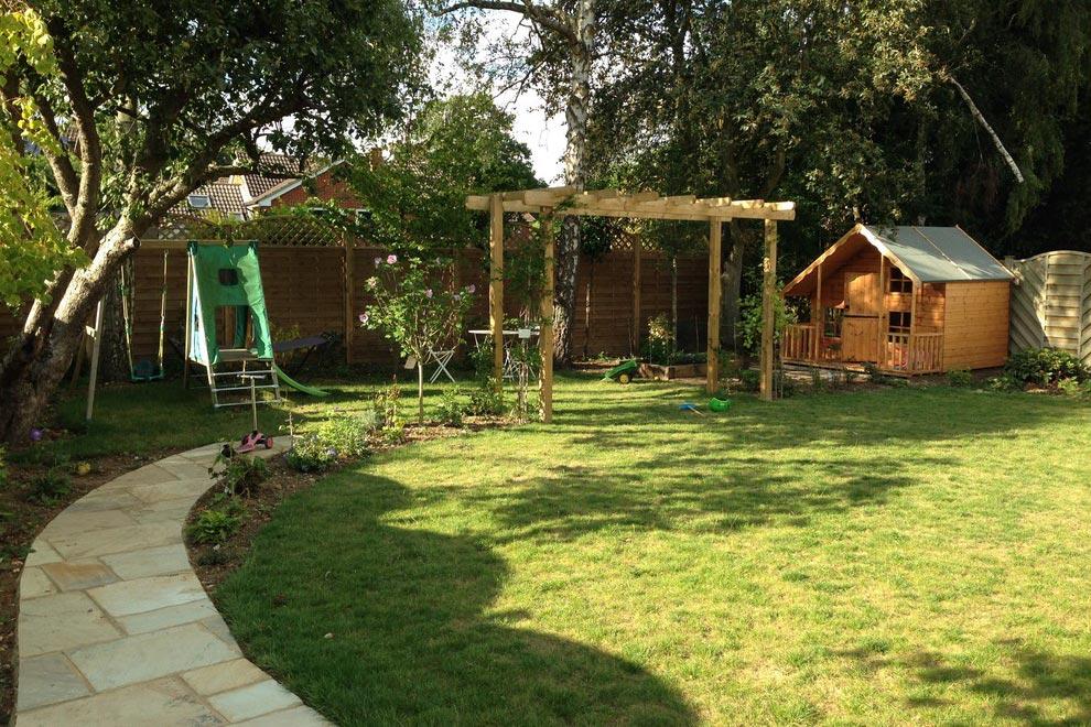 Large Family Garden In Harpenden · Garden Design Portfolio