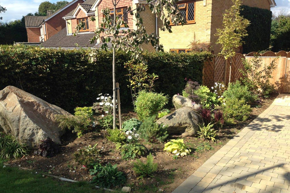 Large family garden in Harpenden