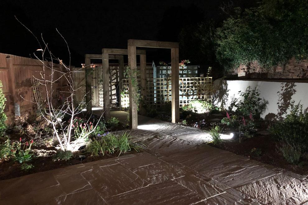 Courtyard garden, Wheathampstead