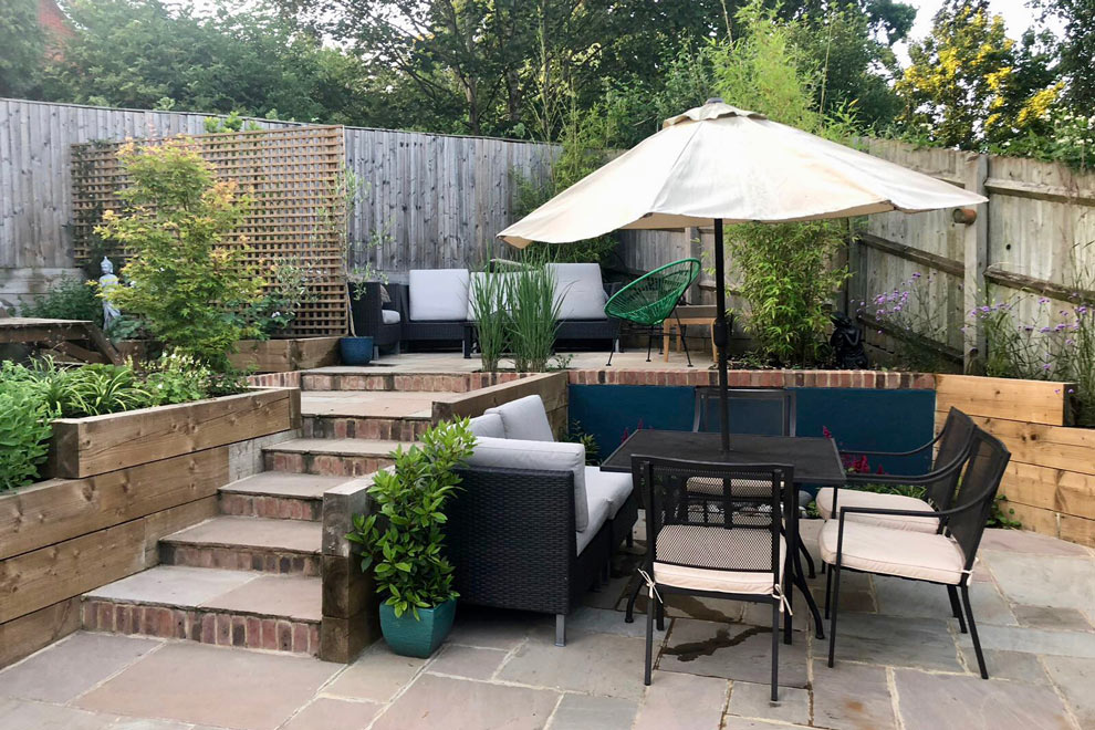 Small Family garden, Wheathampstead
