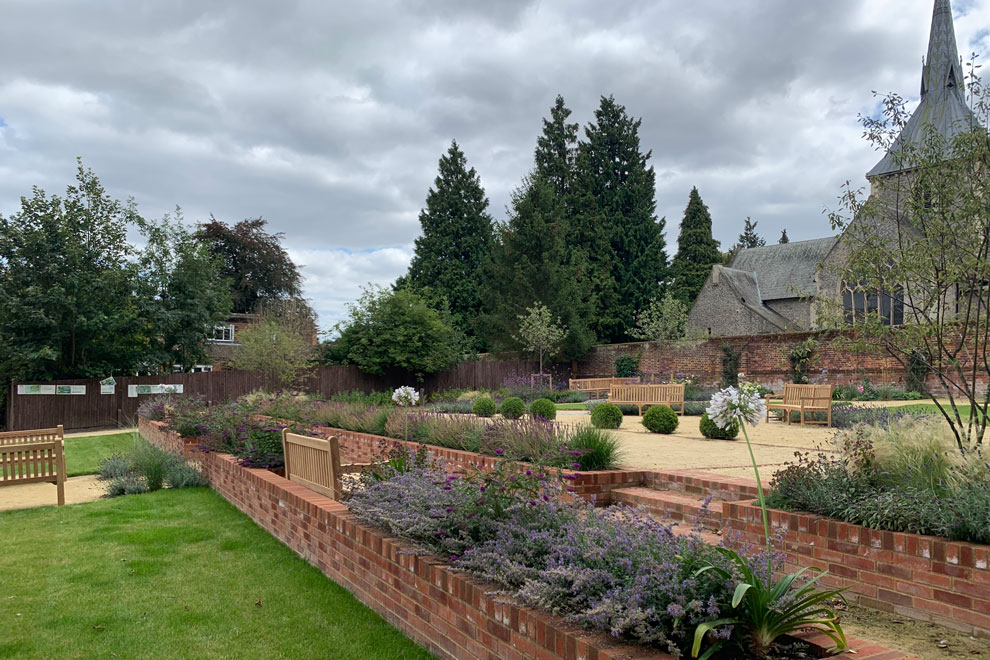 Historic Crinkle-crankle walled garden, Wheathampstead