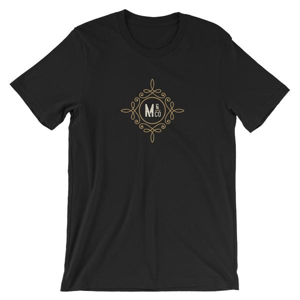 Misadventure Icon - Short-Sleeve Unisex T-Shirt (Dark)