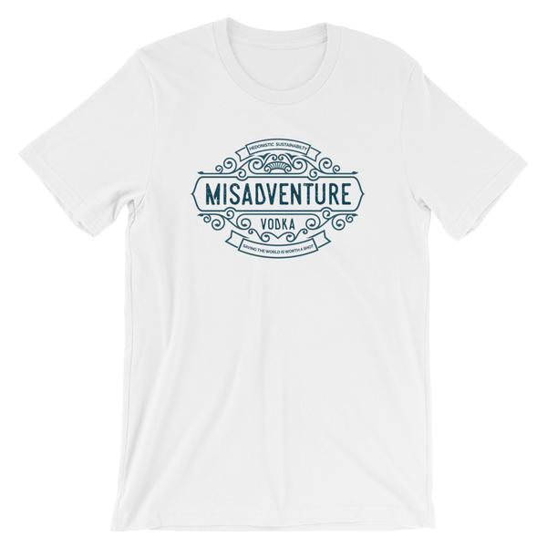Misadventure Logo - Short-Sleeve Unisex T-Shirt (Light)