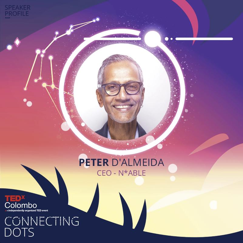 Peter @ TedX Colombo