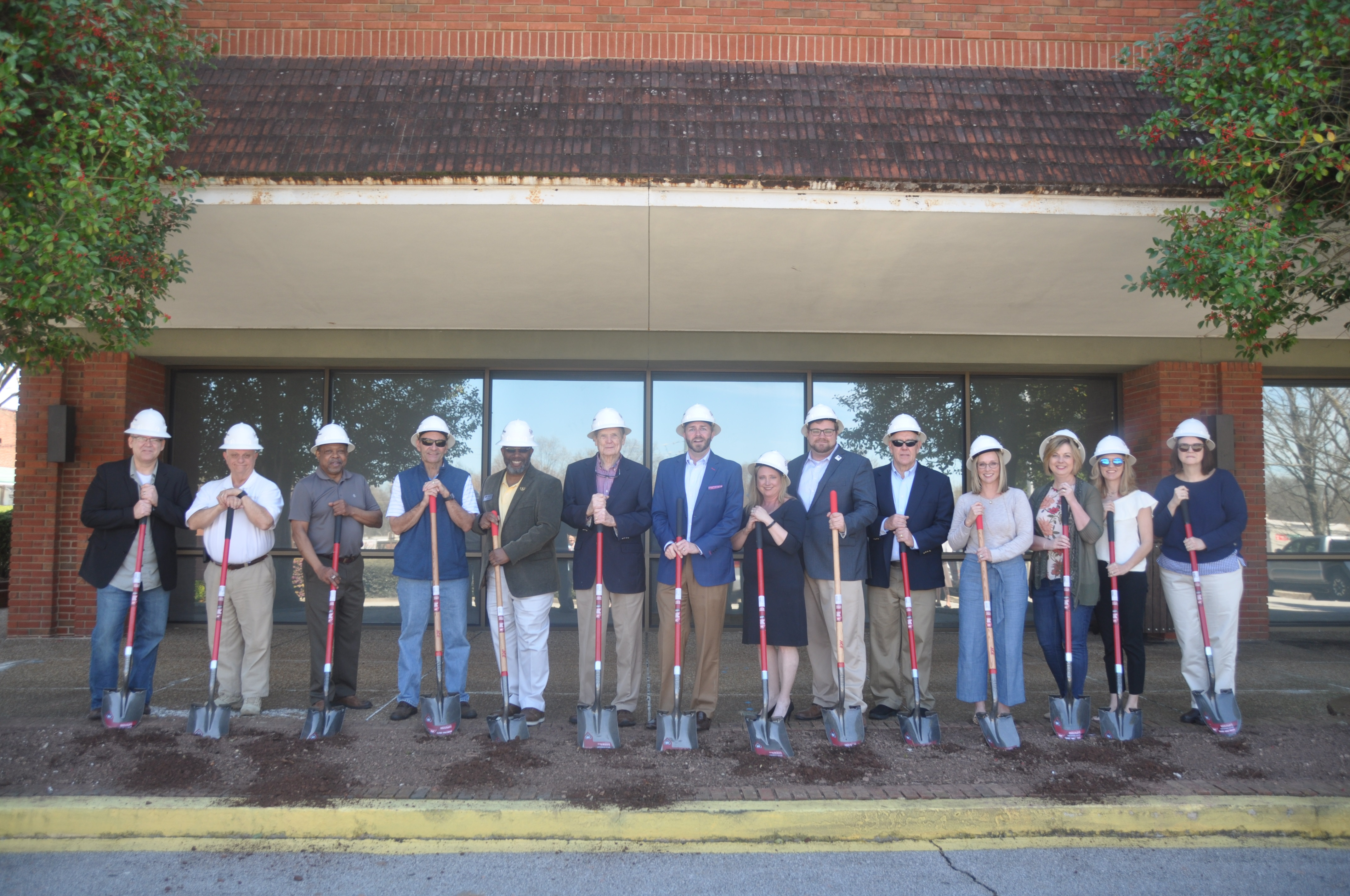 Officials Break Ground on Gainesville Library Expansion
