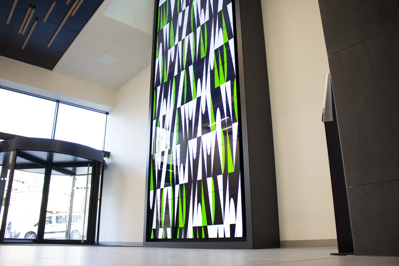 Bruntwood Platform Large Format Video Wall installed by UXG Digital