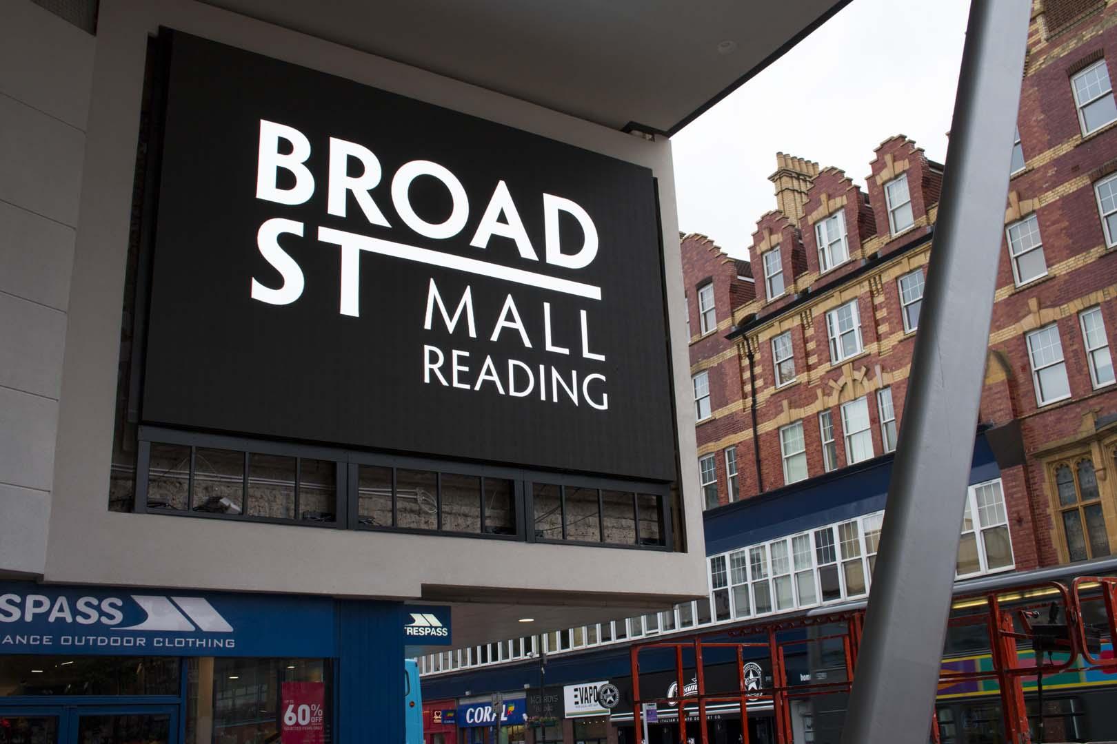 Broad Street Mall LED Display