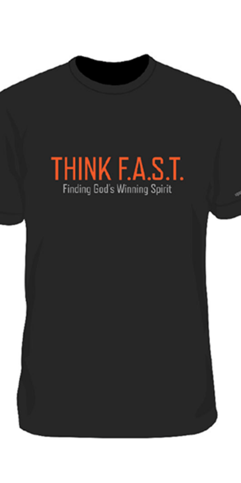 Sports Theology Institute tee shirt