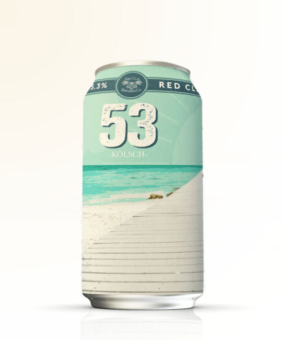 Red Clay Brewing Company 53 Kolsch can