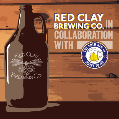 Red Clay Brewing Company social media post