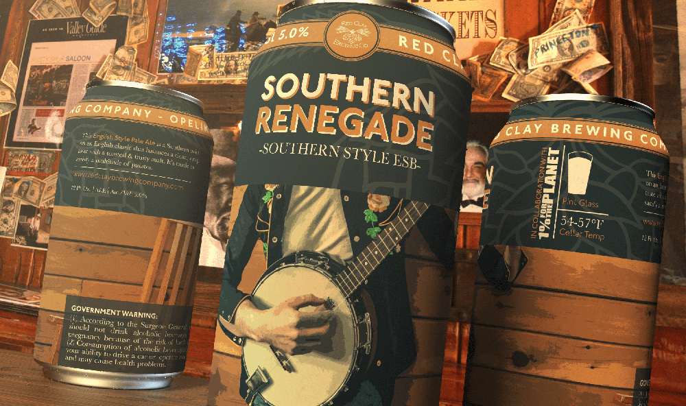 Red Clay Brewing Southern Renegade Can