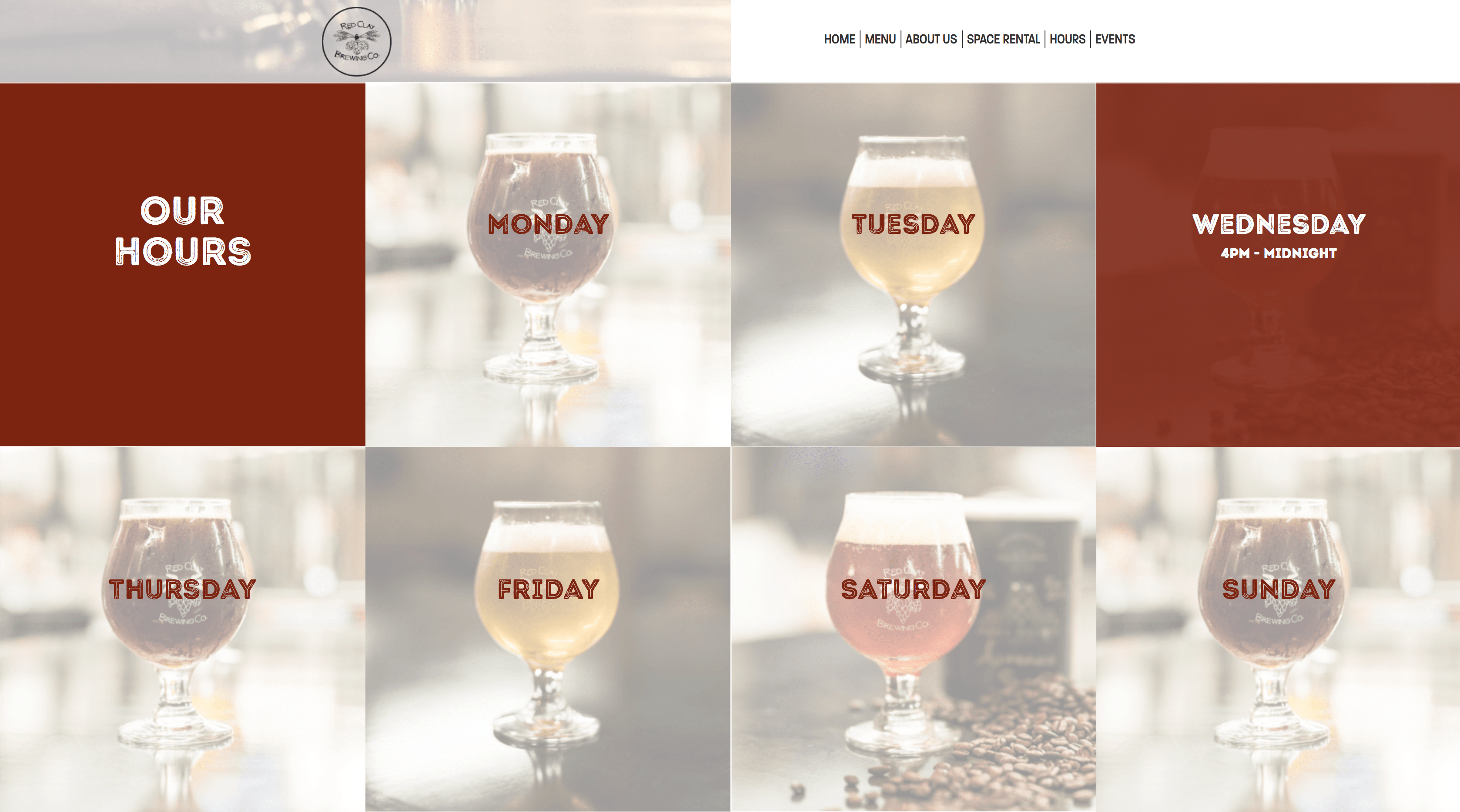 Red Clay Brewing Company website
