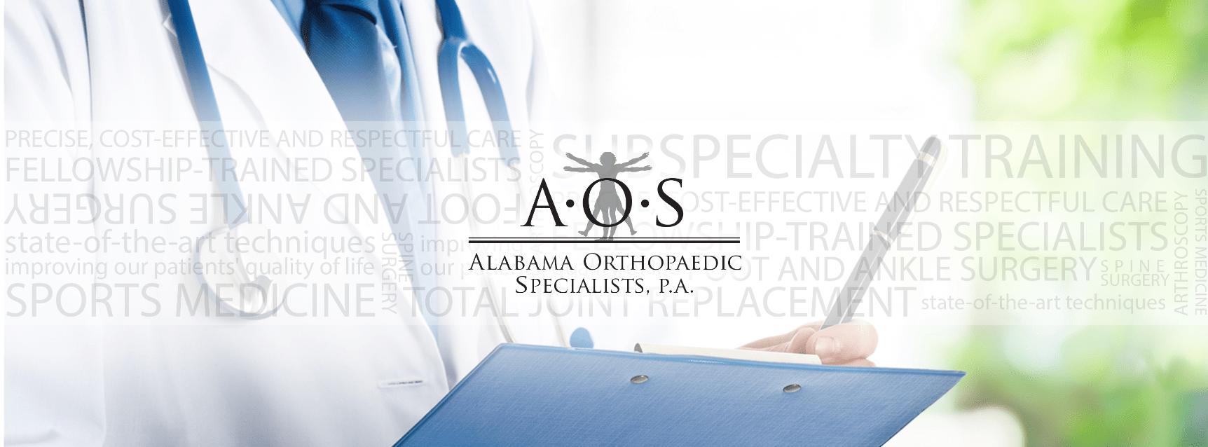 Alabama Orthopaedic Specialists social media header