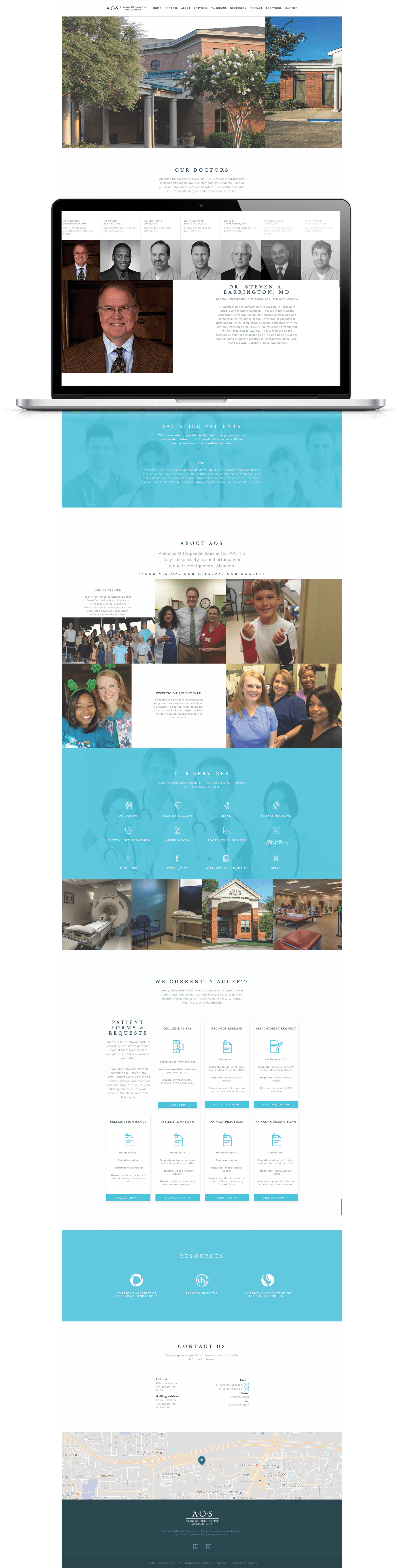 Alabama Orthopaedic Specialists | Baker Street Digital Media