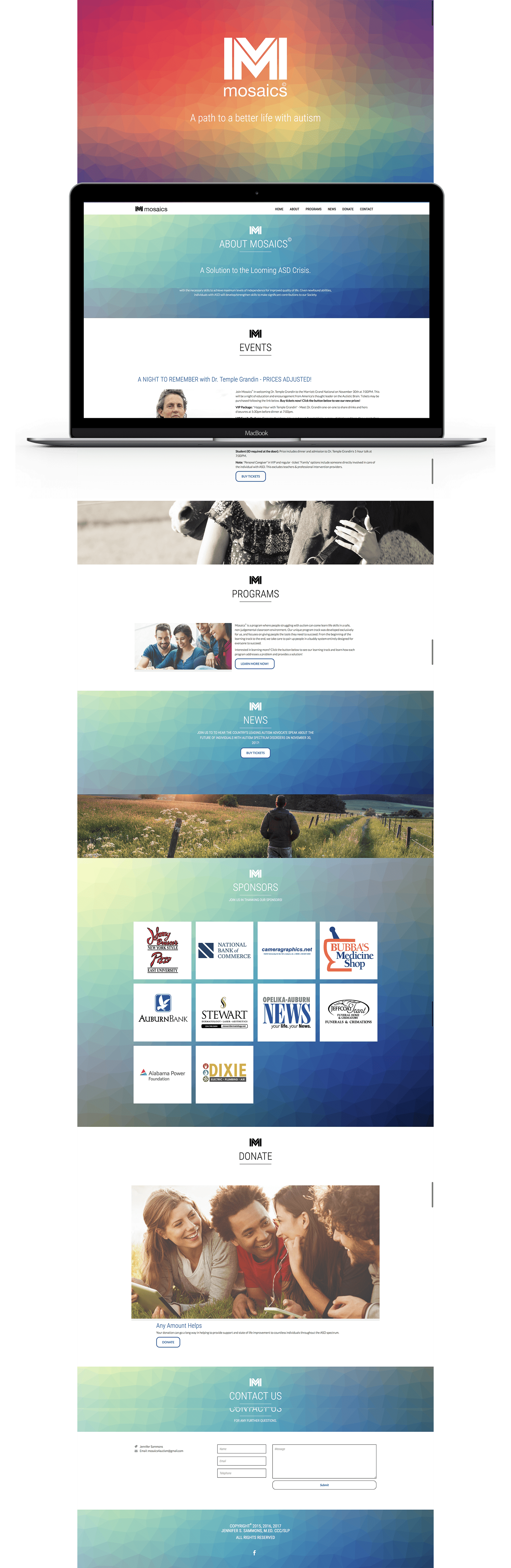 Mosaics website
