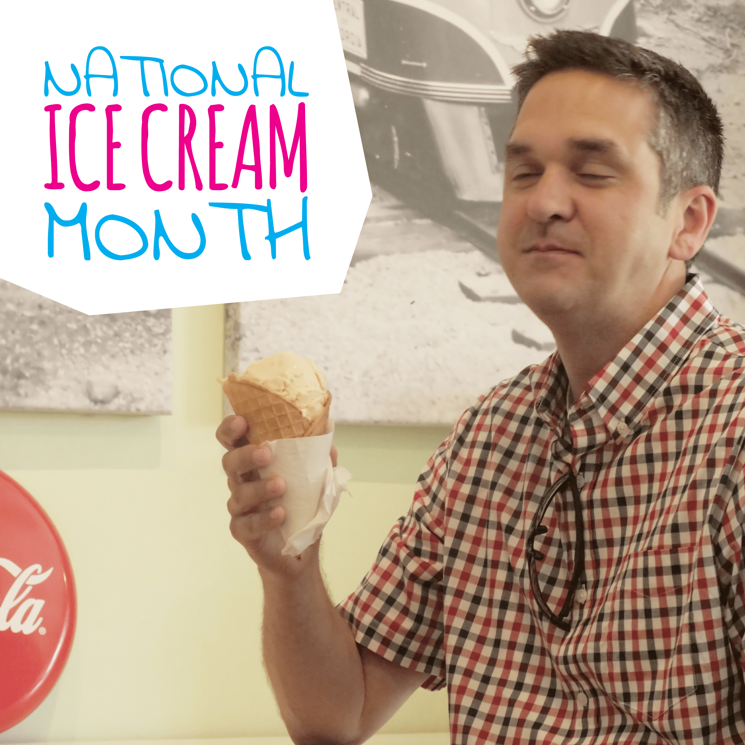 O-Town Ice Cream social media post