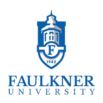 The Faulkner University logo