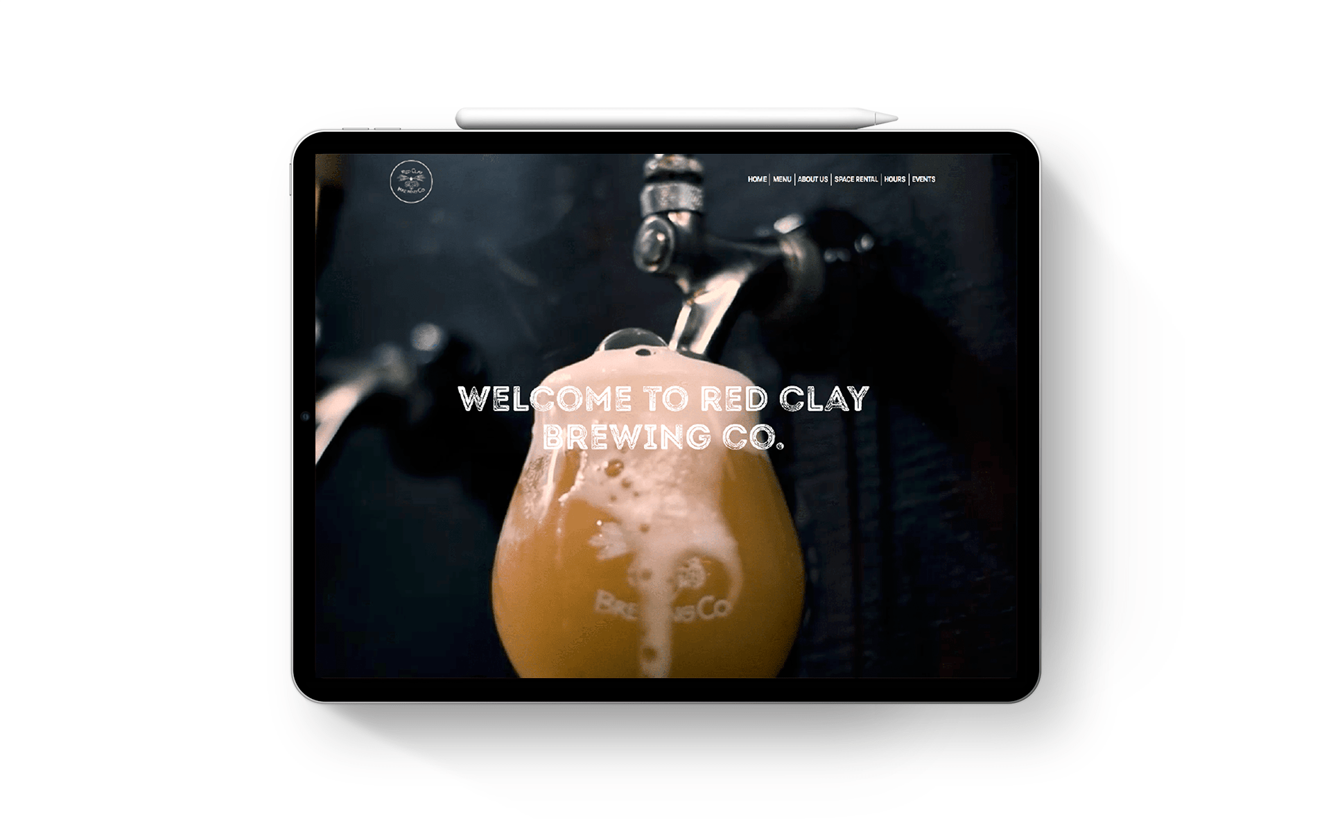 Red Clay Brewing website