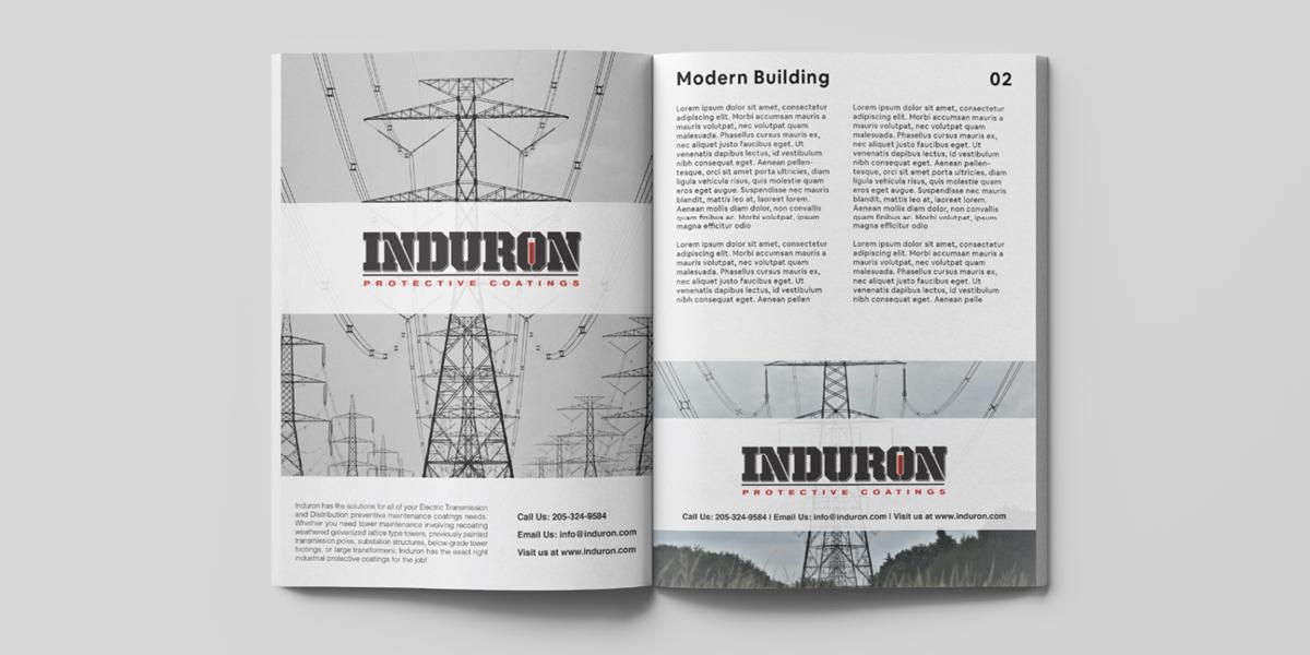Induron print ads