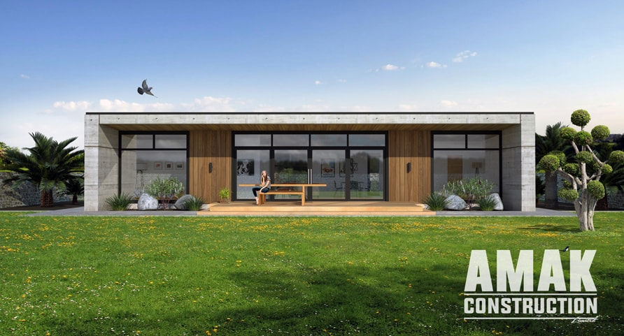 AMAK Construction house plans - The Napa