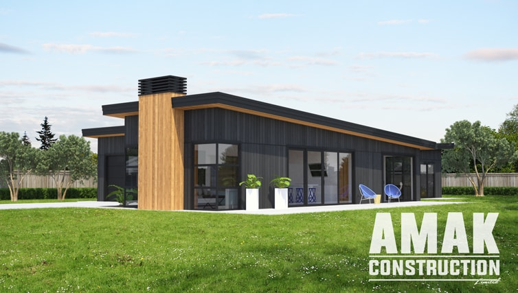 AMAK Construction house plans - The Hagan