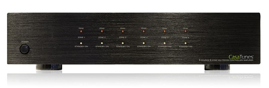 CasaTunes 6X6 matrix amplifier front