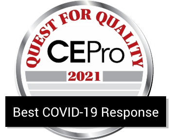 CasaTunes winner of the CE Pro 2021 Kudos Award for Best COVID-19 Response