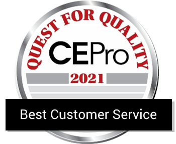 CasaTunes winner of the CE Pro 2021 Kudos Award for Best Customer Service