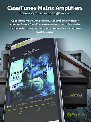 Download the CasaTunes Matrix Amplifier brochure