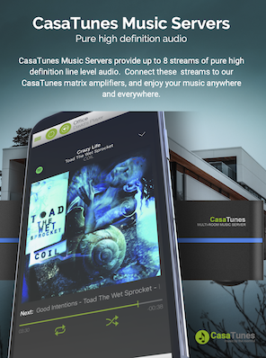 Download CasaTunes Music Server Brochure