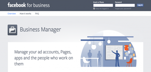 The Facebook for Business Page