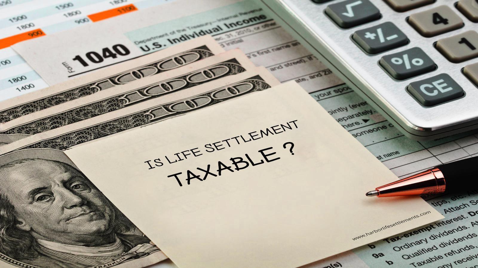 life settlement taxable